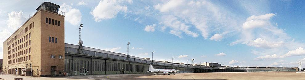 Keny × Neues Büro im Flughafen Tempelhof