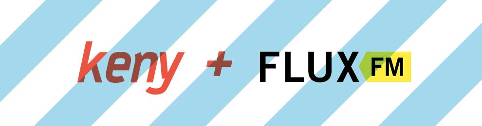 keny auf FluxFM über das »Sticky Art Machines« Projekt