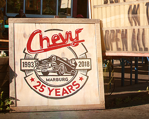 25 YEARS Chevy Diner Keyvisual